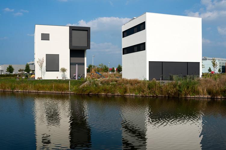 Utrecht kubuseiland architectuurguide - Huis modern kubus ...