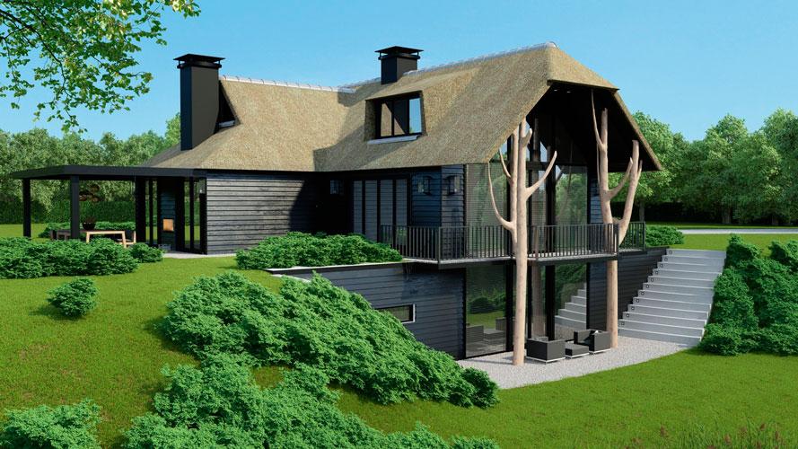 Designa interieur architectuur architectuurguide - Huis interieur architectuur ...