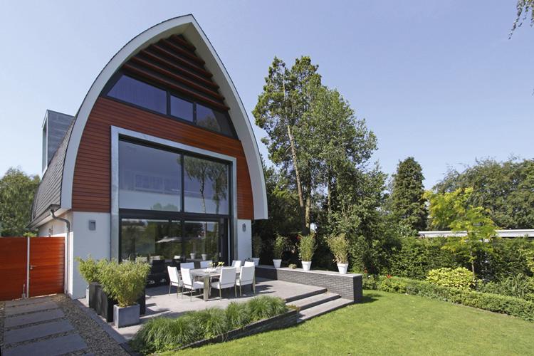 Mix architectuur b v architectuurguide - Exterieur ingang eigentijds huis ...