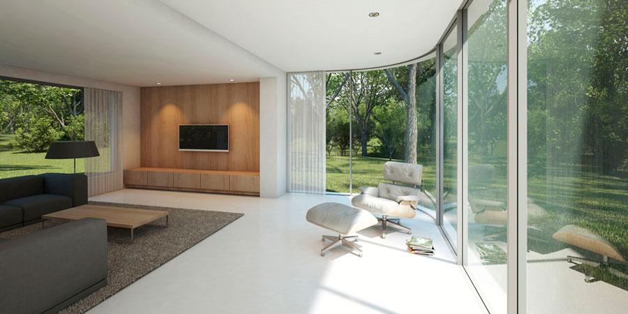 Hofman dujardin architecten architectuurguide for Terras modern huis