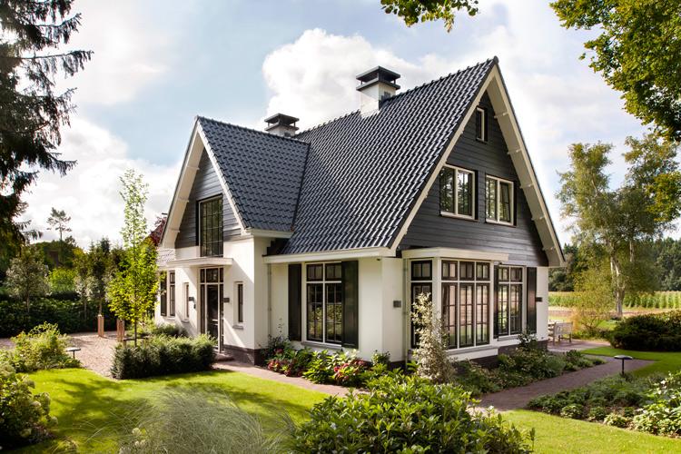 Atelier 3 villa s en landhuizen architectuurguide - Gevel eigentijds huis ...