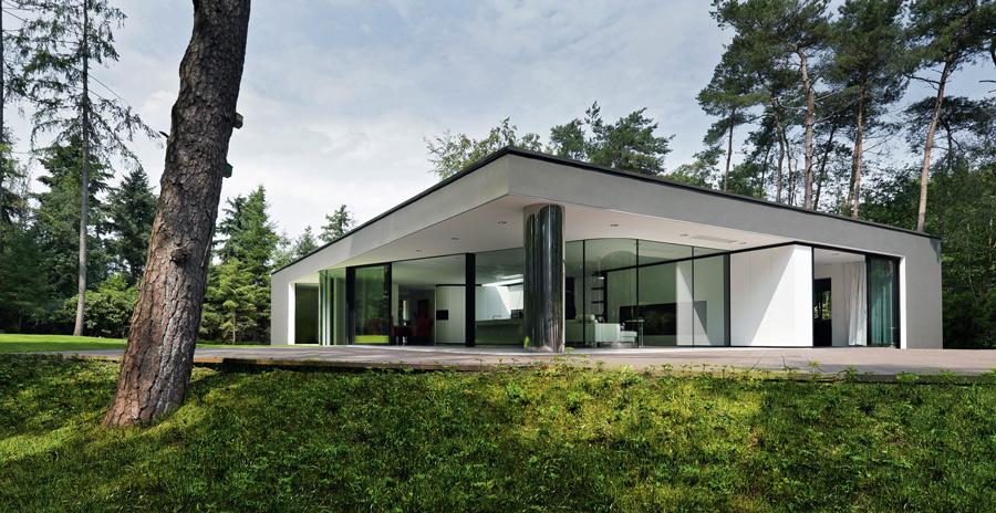123dv architecten moderne villa s architectuurguide for Goedkope woning bouwen